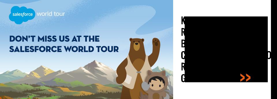 Salesforce World Tour 2018
