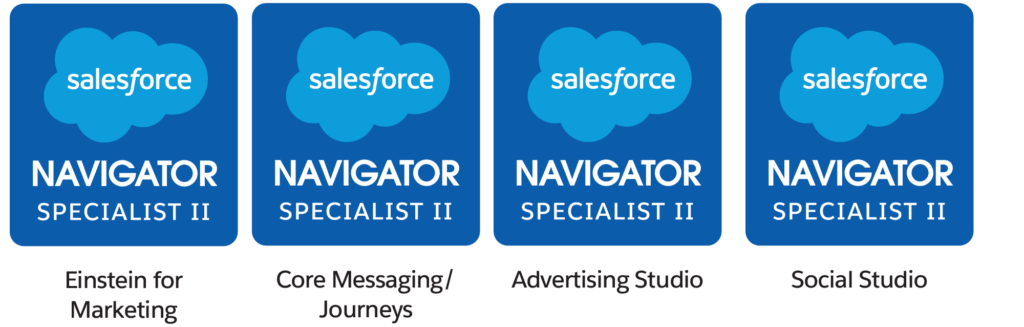Salesforce Navigator level II badges