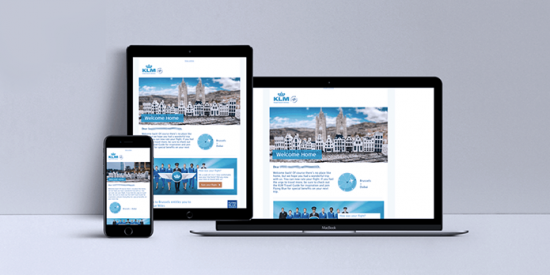 KLM Email Marketing